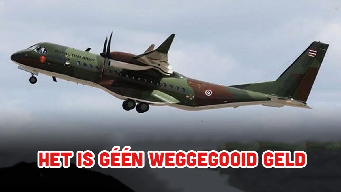 Het Thaise leger verdedigt de aankoop van de Airbus C295-vliegtuig
