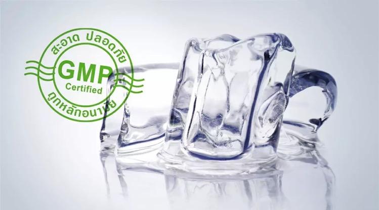 Thaise gezondheidsdienst adviseert alléén ijs van GMP-gecertificeerde fabrikanten te consumeren