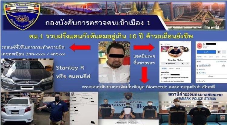 Nederlander in Bangkok gearresteerd voor vermeende verkoop van gebruikte auto's met valse registratiebewijzen