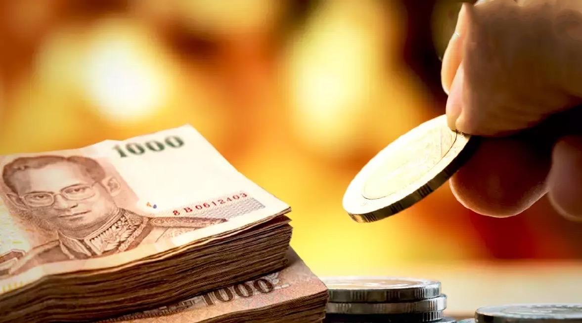 De Thaise Baht ligt onder druk omdat buitenlandse investeerders zich nog steeds zorgen maken over Thaise economie