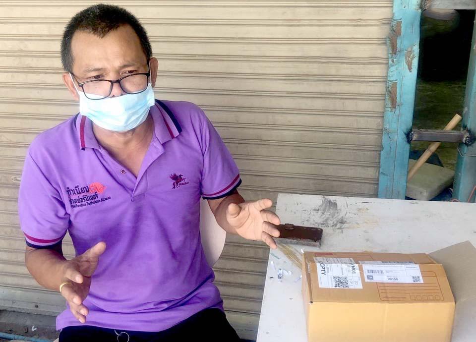 Man in Pattaya waarschuwt voor oplichting met niet bestelde pakketjes