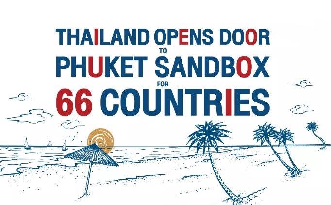 Phuket opent de grenzen voor deze 66 onderstaande landen