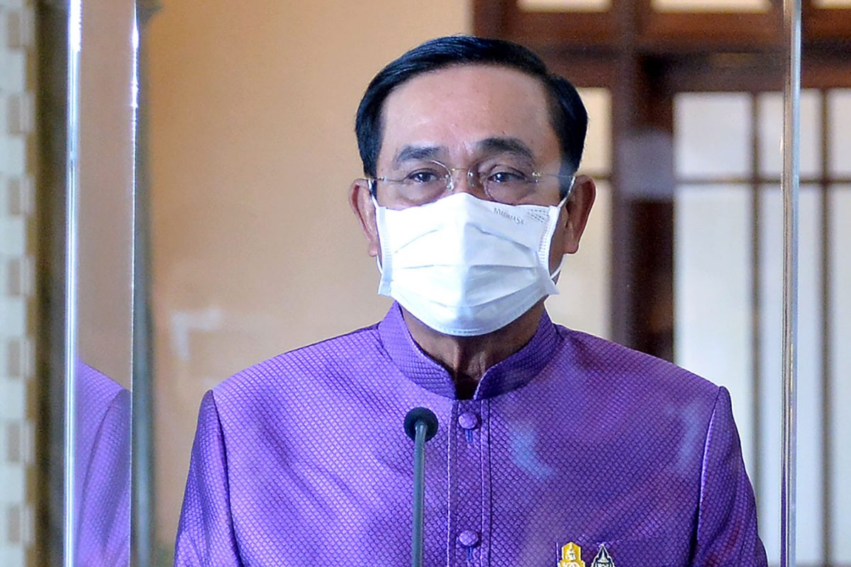 Premier Prayut Chan-o-cha zegt dat drugsonderdrukking een nationale prioriteit moet zijn