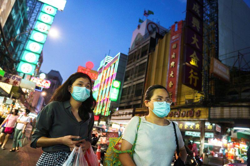 De index van het Thaise consumentenvertrouwen tot een recordniveau gedaald