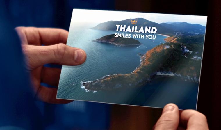 De voetballers van Leicester City ingezet om Phuket in een tv commercial van de TAT te promoten