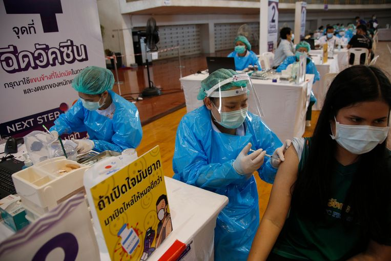Schuldige aan vaccintekort mag in Thailand niet worden genoemd