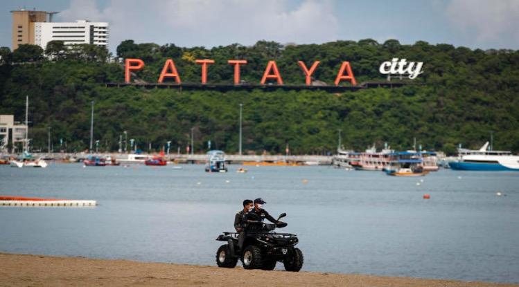 De toeristen organisaties van Pattaya hebben de hoop op buitenlandse toeristen laten varen