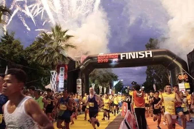 De marathon van Pattaya is voor het tweede jaar op rij afgelast vanwege de gevolgen van de Covid19 pandemie