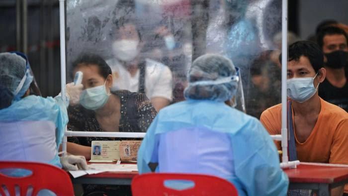 40 Covid19 doden en 2.331 nieuwe infecties in Thailand is de jammerlijke balans van de laatste 24 uur