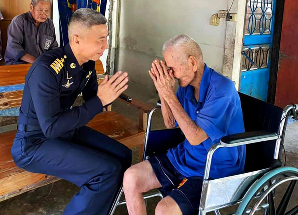 De laatste Thaise vlieger uit de Tweede Wereldoorlog is op 102-jarige leeftijd overleden