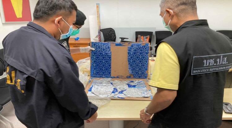 Thaise politie is de laatste weken erg succesvol in het drugscircuit van Thailand en verricht menige arrestaties