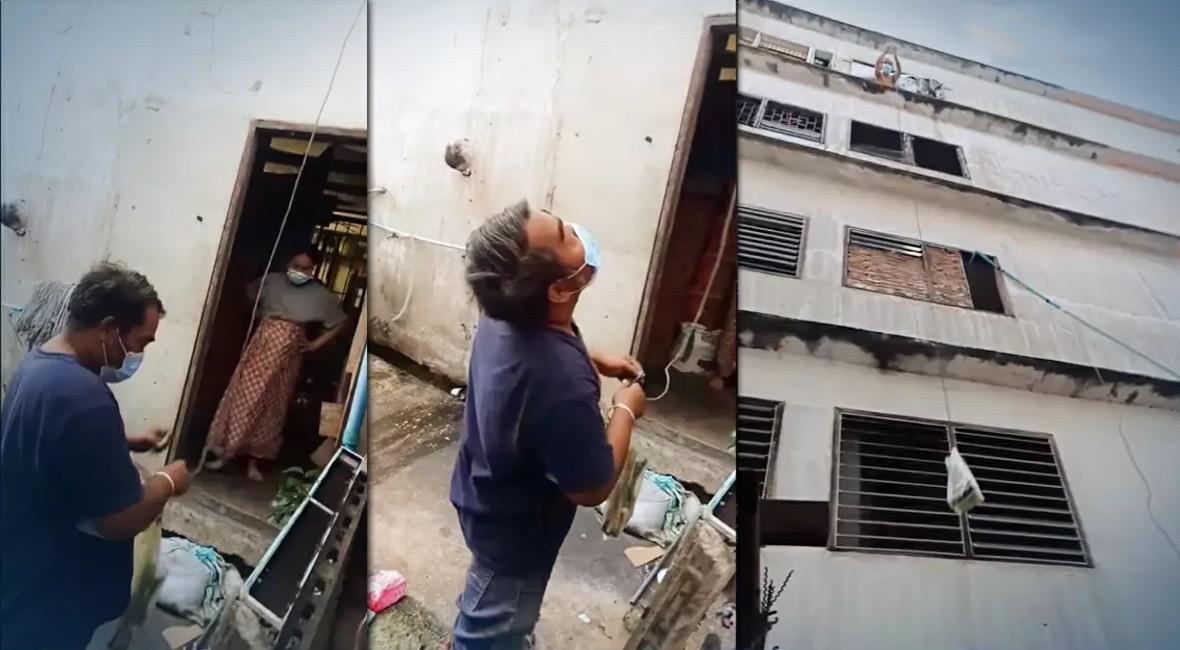 Eenzame blinde jongen in door Covid getroffen familie sleept netizens naar hartenlust