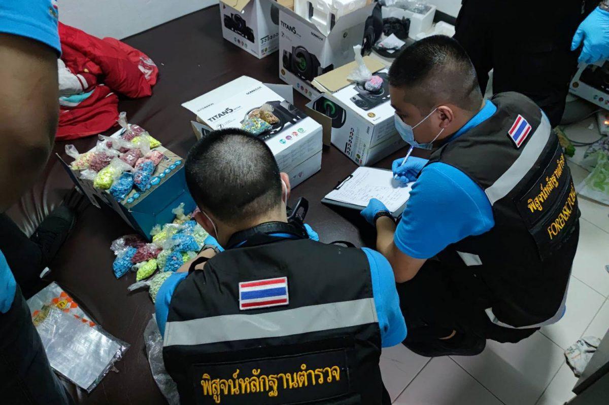 Nigeriaanse man voor verkoop van ecstasy in clubs in de Thaise hoofdstad Bangkok gearresteerd
