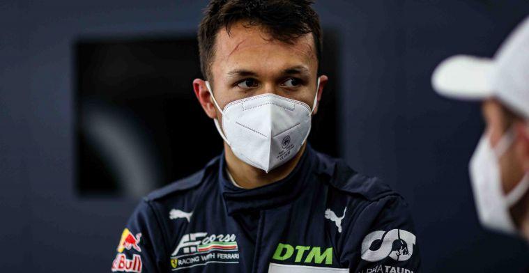 De Thaise Alexander Albon hoopt op racezitje in 2022: 'Kijken of er nog ruimte is'