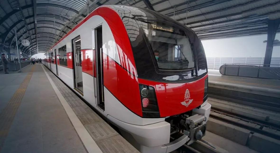 De SRT Red Line in Bangkok gaat komende maandag om 6 uur in de morgen van start