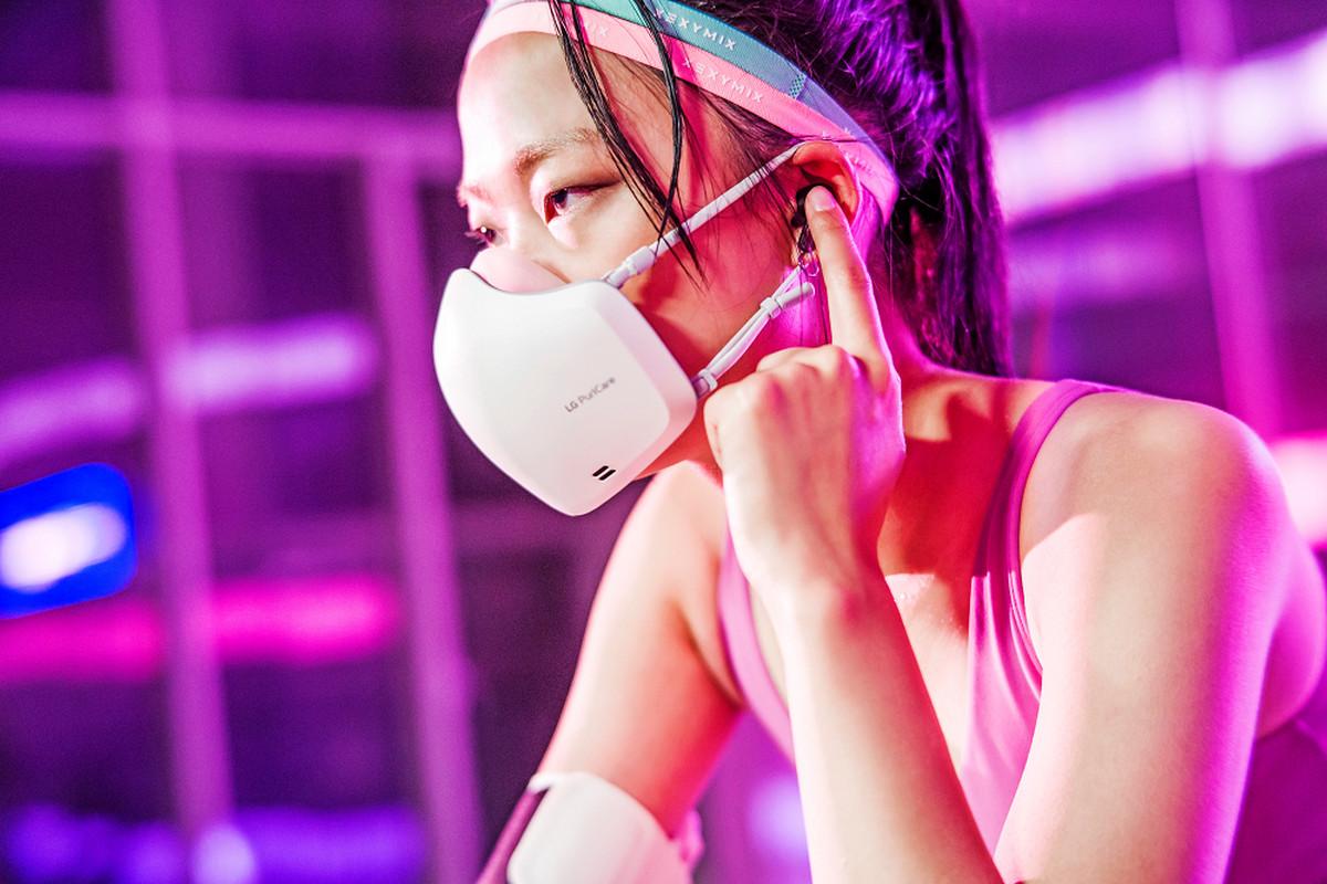 LG lanceert in Thailand een mondmasker met stemversterker