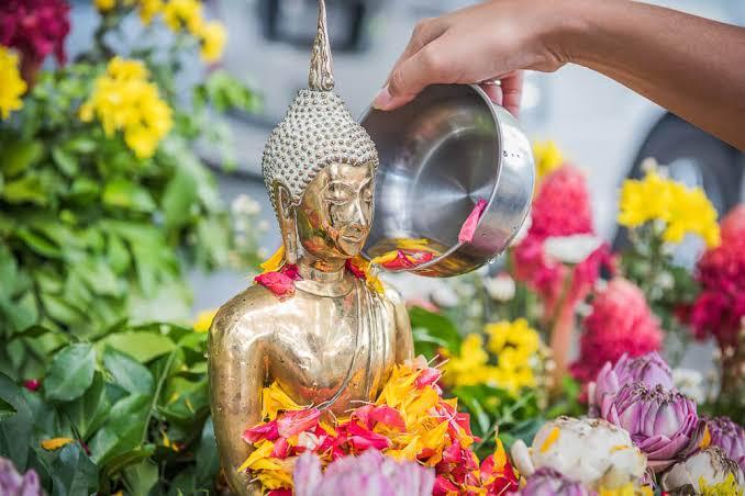 Het Songkran festival vermeld als 1 van de top 3 festivals in Azië