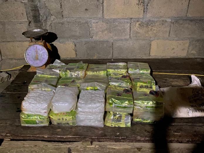 Thaise vrouw in Pattani aangehouden met 277 kilo crystal methamfetamine in haar keukenkasten