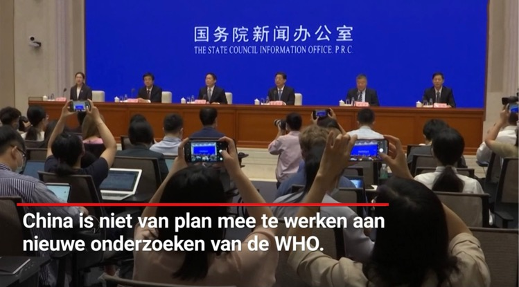 China hekelt WHO-plan voor vervolgonderzoek naar herkomst virus