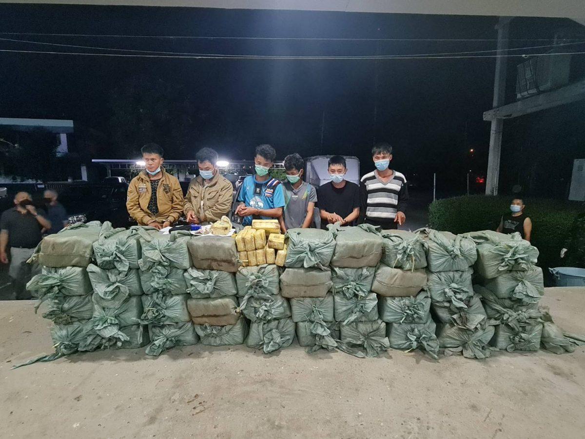 Thaise antidrugsbrigade kondigt grote drugsarrestatie aan waarbij in Noord-Thailand meer dan 8 miljoen meth-pillen in beslag waren genomen
