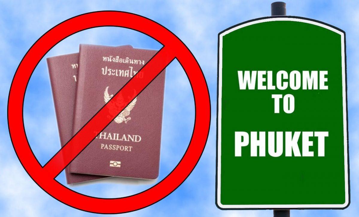 Binnenlandse reizen naar Phuket vanaf 2 augustus vrijwel verboden