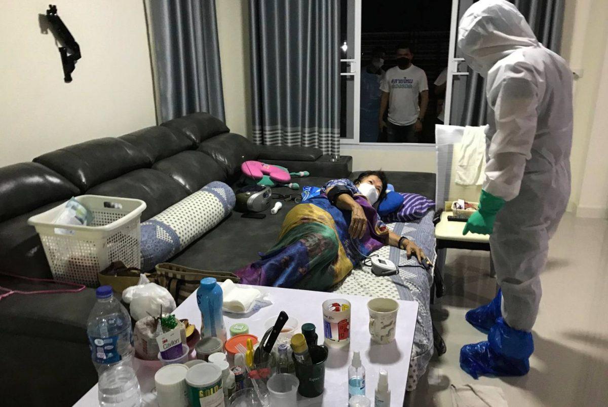 In Bangkok weigeren ziekenhuizen momenteel covid19 patiënten aan te nemen