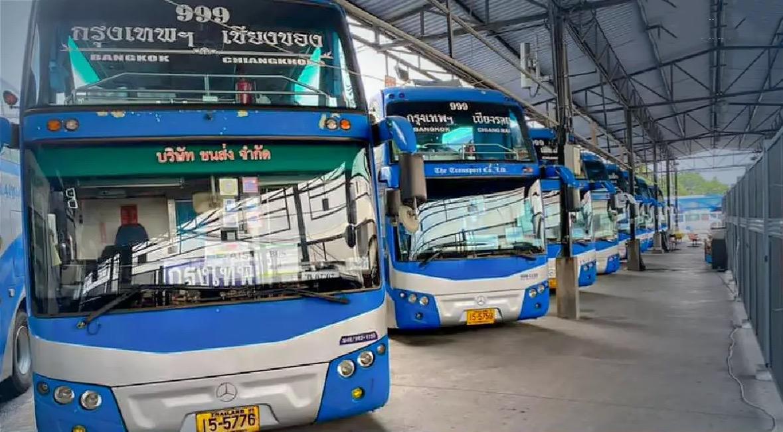 De Thaise busmaatschappij Transport Co schort alle interprovinciale busdiensten op