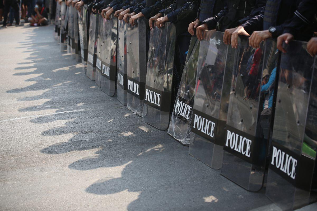 Vandaag zijn er 6.000 man oproerpolitie bij de geplande demonstraties nabij het Grand Palace in Bangkok ingezet