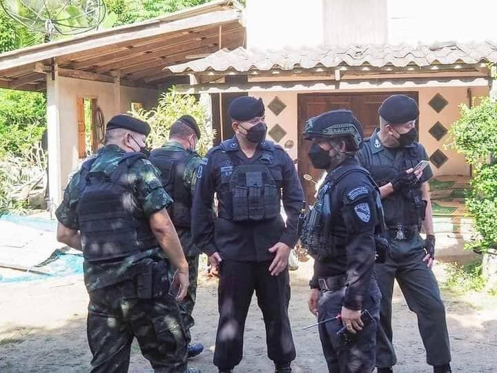 Is Pattani werd een Thaise opstandeling gezocht voor vermoedelijke moord van leger officieren