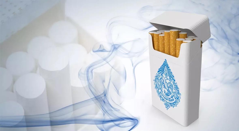 Thailand stelt een nieuwe sigarettenbelasting in om de pakjes sigaretten met 6 a 8 baht per pakje te verhogen