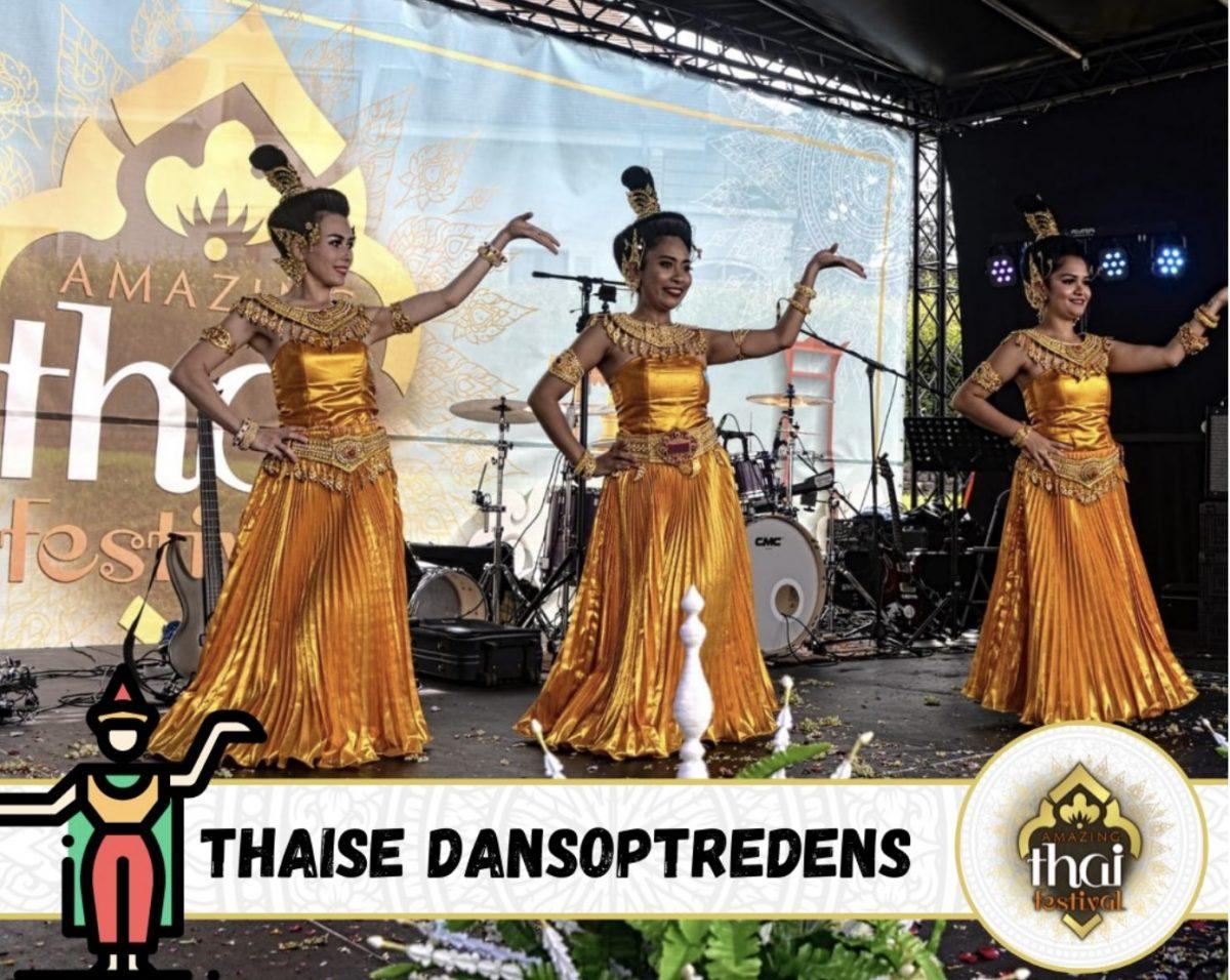 Amazing Thai Festival in Laakdal ten voordele van Bamboo School Thailand