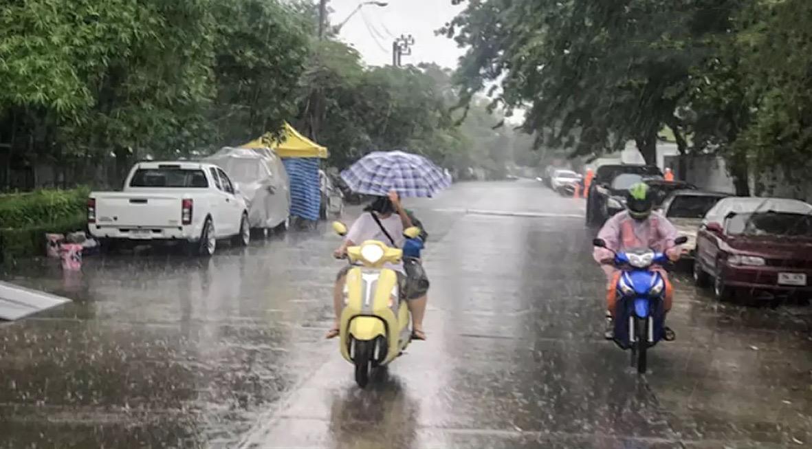 Het weer in Thailand wordt de komende dagen onstuimig, heel Thailand krijgt te maken met onweersbuien en regen