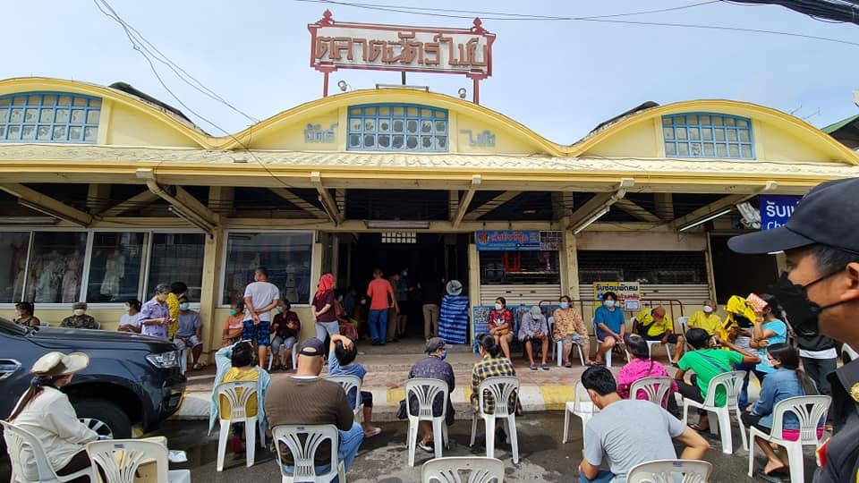 De gezondheidsdienst van Hua Hin is bezorgd over de Covid19 situatie in deze kustplaats