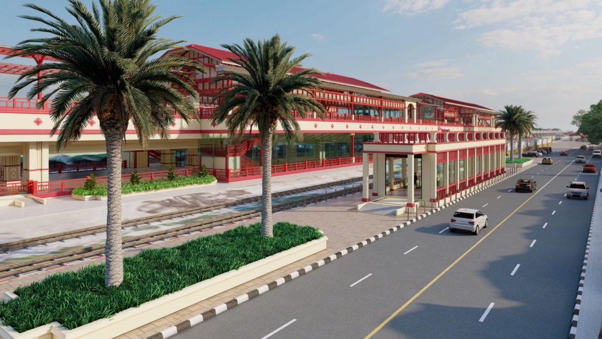 Een hightech treinstation zal de plaats van het pittoreske treinstation van Hua Hin in de toekomst overnemen