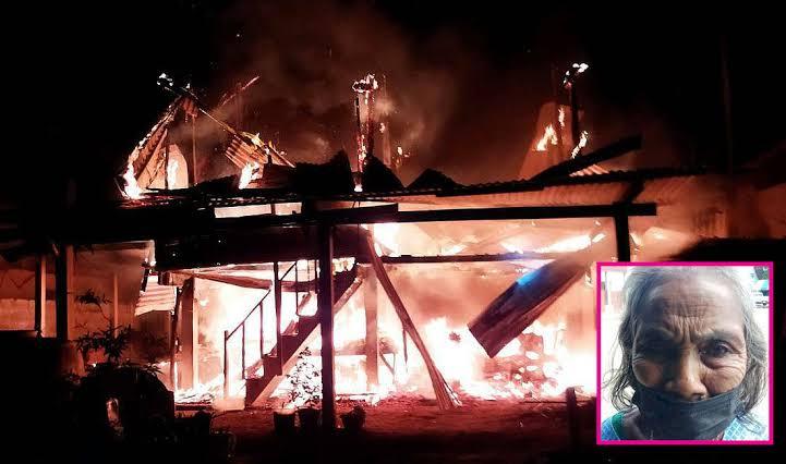 """""""Ondankbare zoon"""" steekt zijn huis in brand nadat zijn dove moeder hem drankgeld weigerde."""