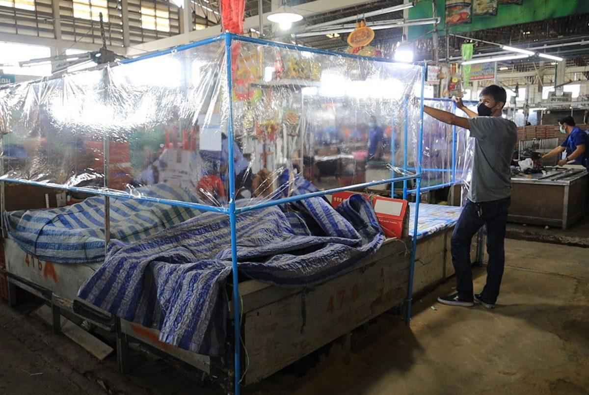 """De boerenmarkt """"Talad Suranaree"""" in Korat gaat vandaag weer open!"""