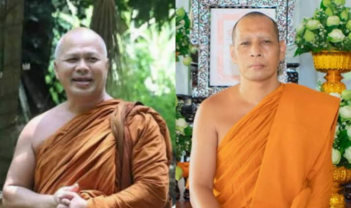 Monnik in Zuid Thailand valt een oudere monnik met een zeis aan waarbij hij bijna afscheid van zijn neus moest nemen